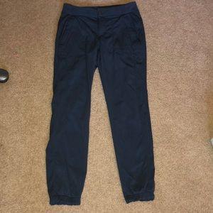 Athleta Jogger pants Trekkie slim Charcoal gray 2